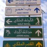 Je vind je weg wel in Marrakech